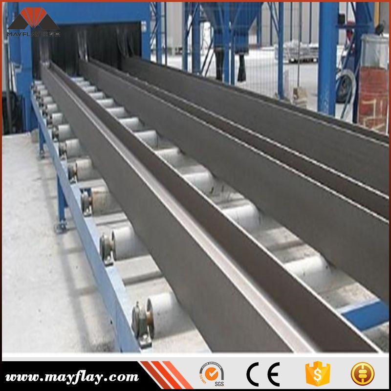 Mayflay Roller Through Type Shot Blasting Machine Steel To Remove Burrs Sand Blasting Machine Where To Buy Sand Galvanising