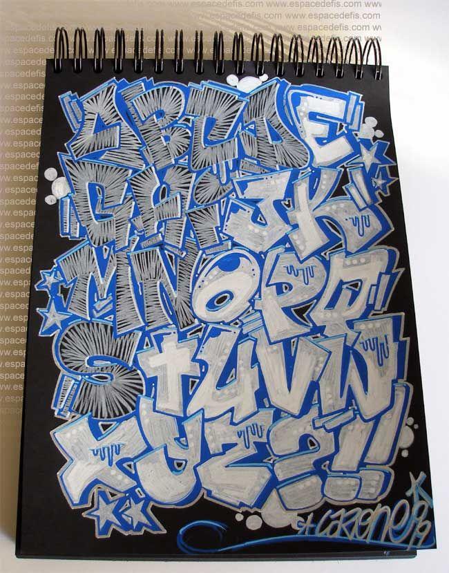 Graffiti Letters Az Graffiti Alphabet Letter A Z Letter Graffiti