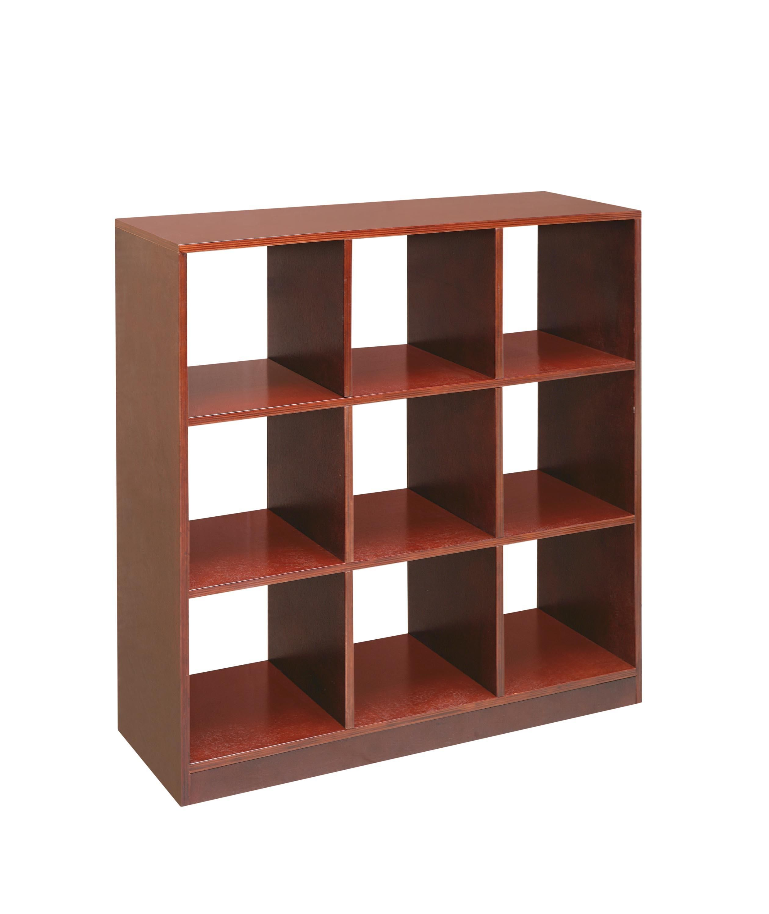 Storage Cube Furniture With Baskets With Elegant Brown 9