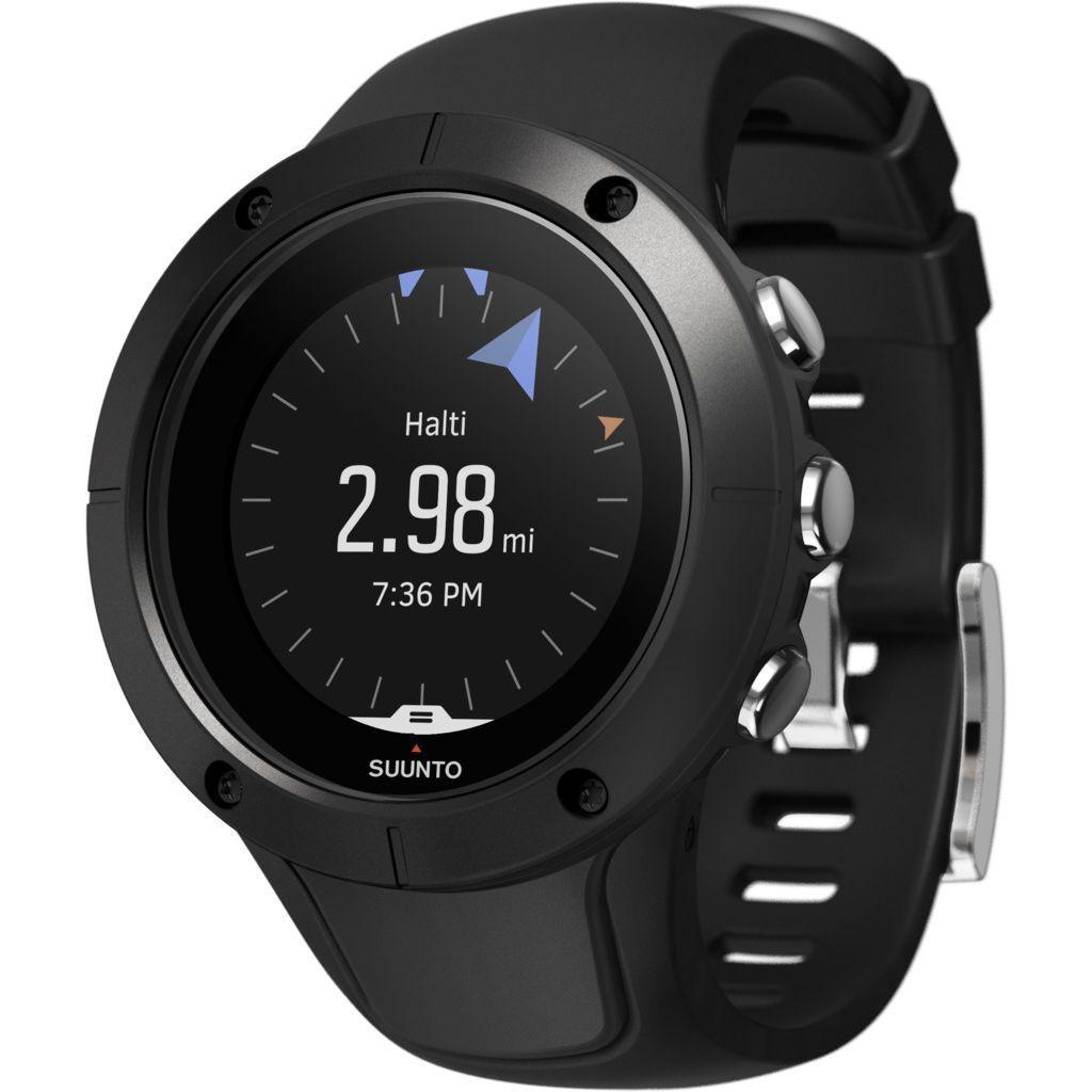 Suunto Spartan Trainer Wrist Hr Multisport Gps Watch Black Trainers Gps Tracking Watches