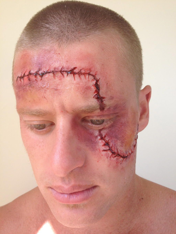 Scar Makeup Scar makeup, Fake scar, Makeup