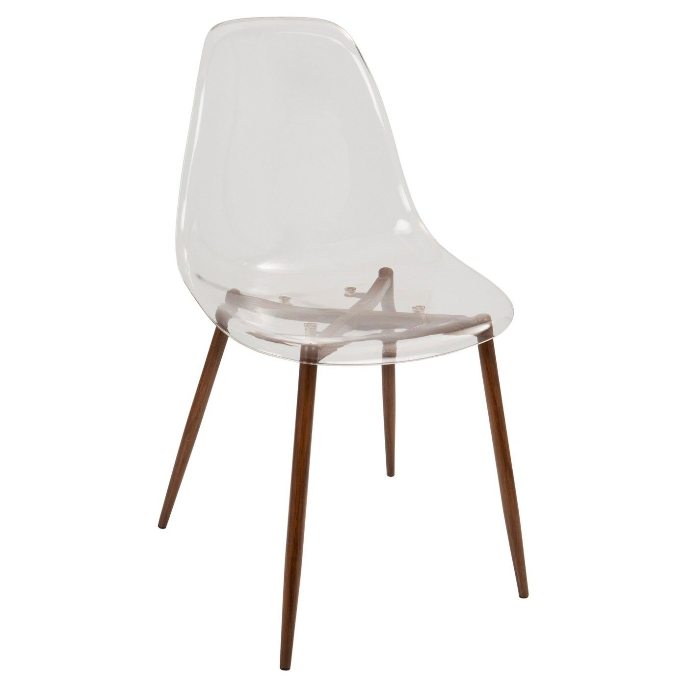 Terrific Lumisource Set Of 2 Clara Modern Dining Chair Apartment Ncnpc Chair Design For Home Ncnpcorg