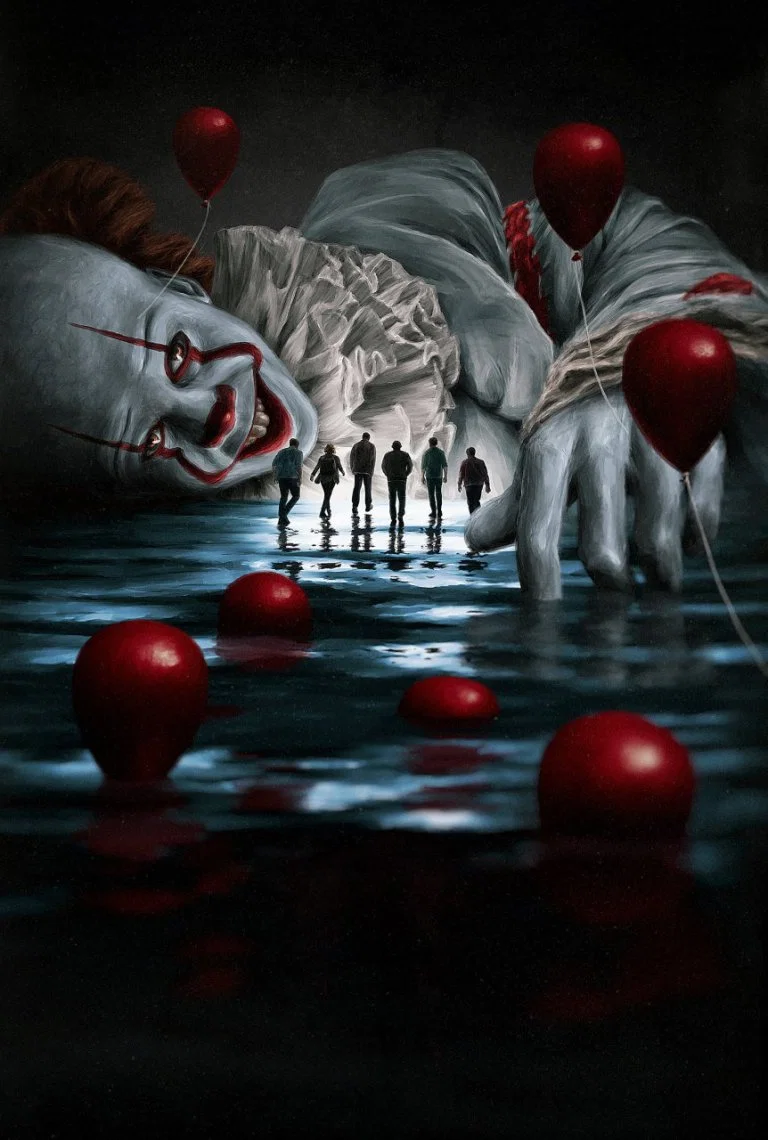 It Chapter 2 Pennywise Wallpapers Scary Wallpaper Horror Artwork Iphone Wallpaper