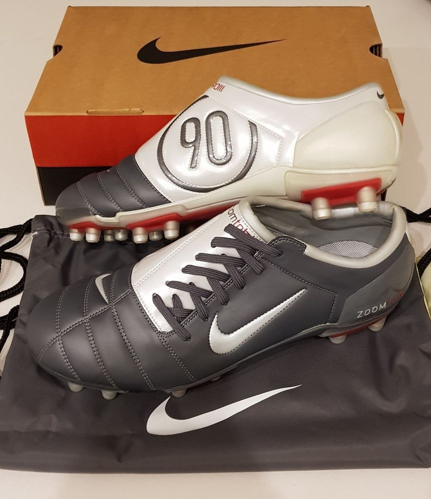 f04a9d795b4901 2004 NIKE AIR ZOOM TOTAL 90 III FG FOOTBALL BOOTS SOCCER MANIA BNIB RARE UK  10.5 #Nike