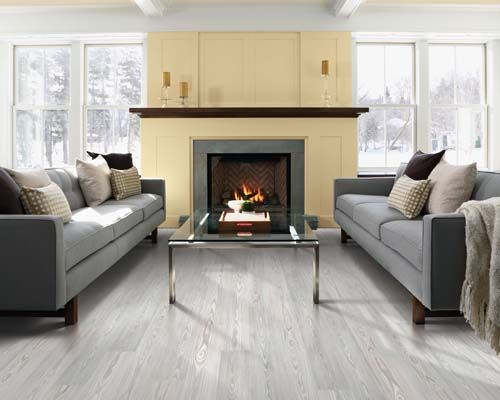 Look how open this living room looks with this light Pergo Max – Living Room Looks