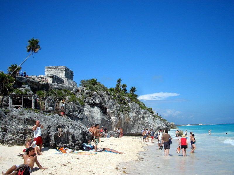 Ruinas de Tulúm, Riviera Maya, México. Fotografía por Walter Ávila.
