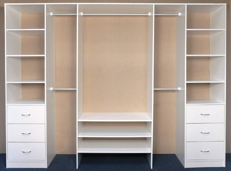 3 door layout options brodco wardrobes diy pinterest wardrobes and doors - Walk in wardrobes diy ...