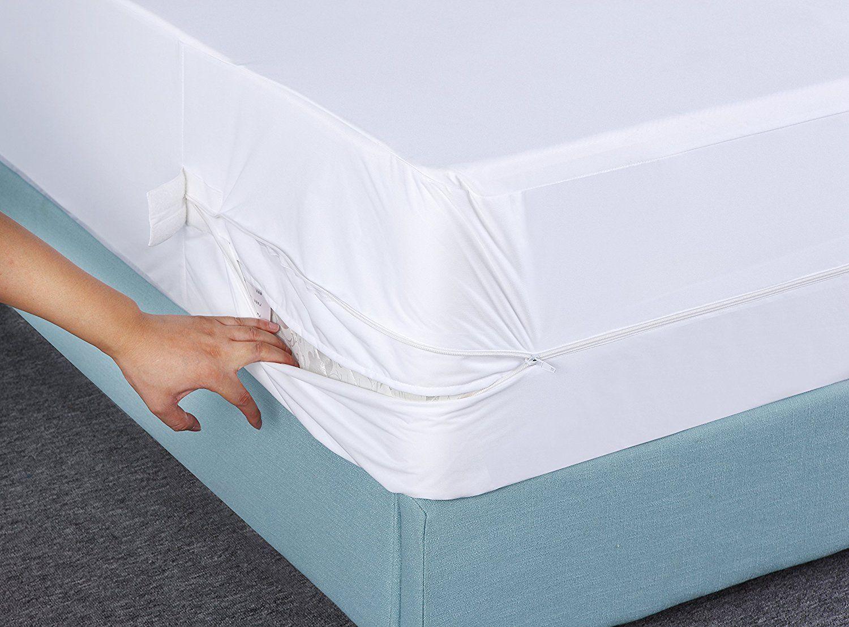 Utopia Bedding Waterproof Zippered Mattress Encasement Cover Bed Bug Proof,