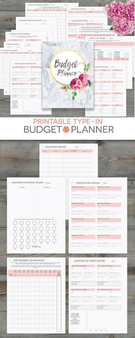 This Budget Planner Looks Perfect Budget Planner Printable