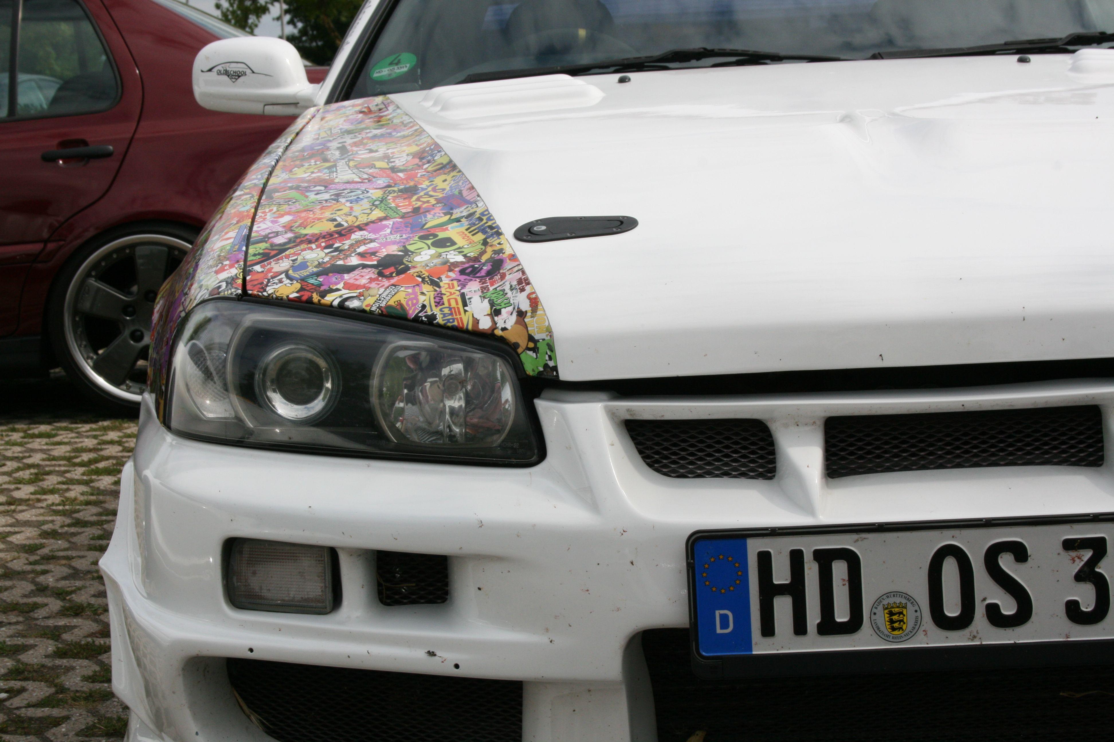 стикербомбинг volkswagen t4