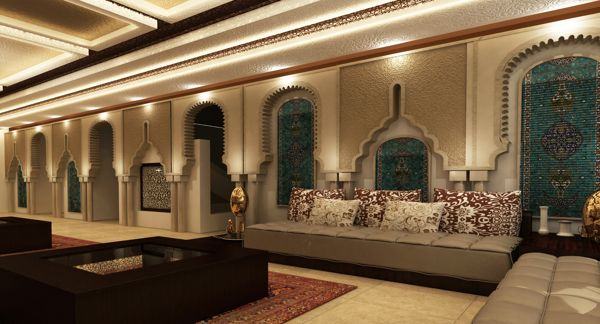 Modern arabic interior design google search home decor for Moroccan house design
