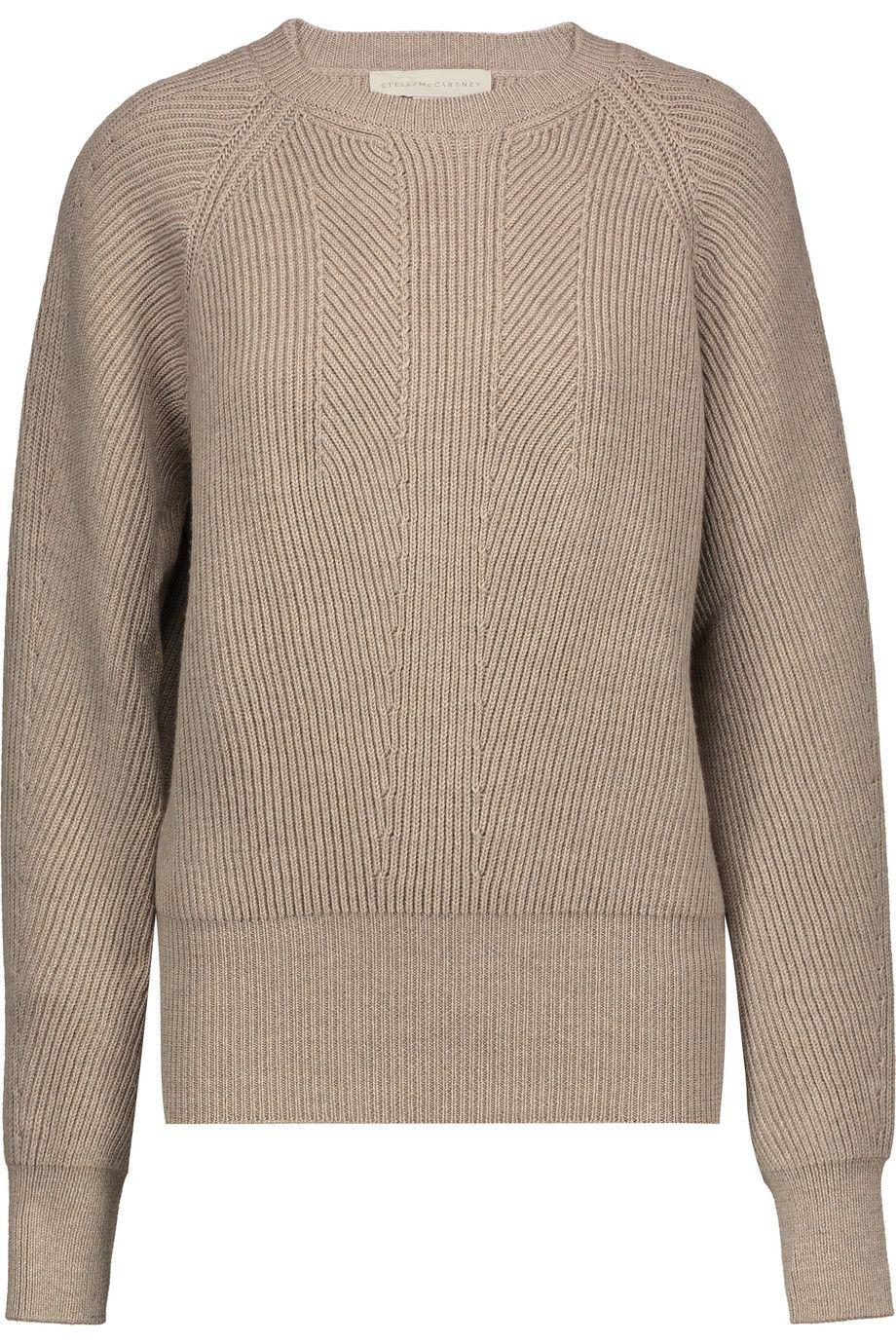 STELLA MCCARTNEY Ribbed wool sweater. #stellamccartney #cloth ...