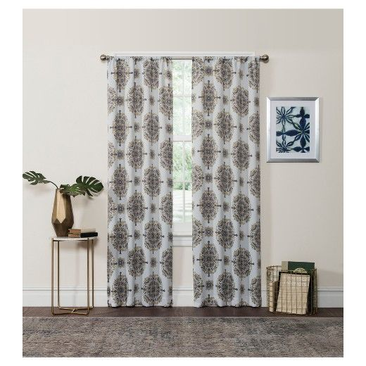 Olivia Thermaweave Blackout Curtain Panel - Eclipse™ : Target