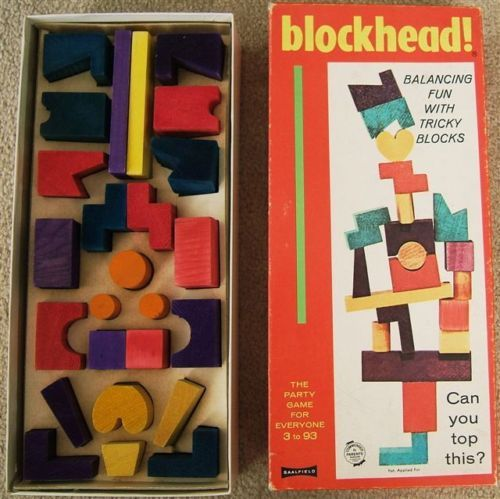 Blockhead.  I had this!
