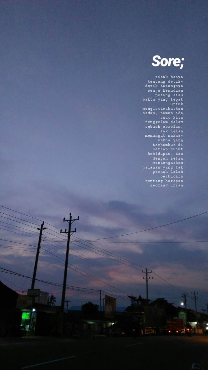 sore ©retnodwic kutipan terbaik ungkapan lucu dan langit