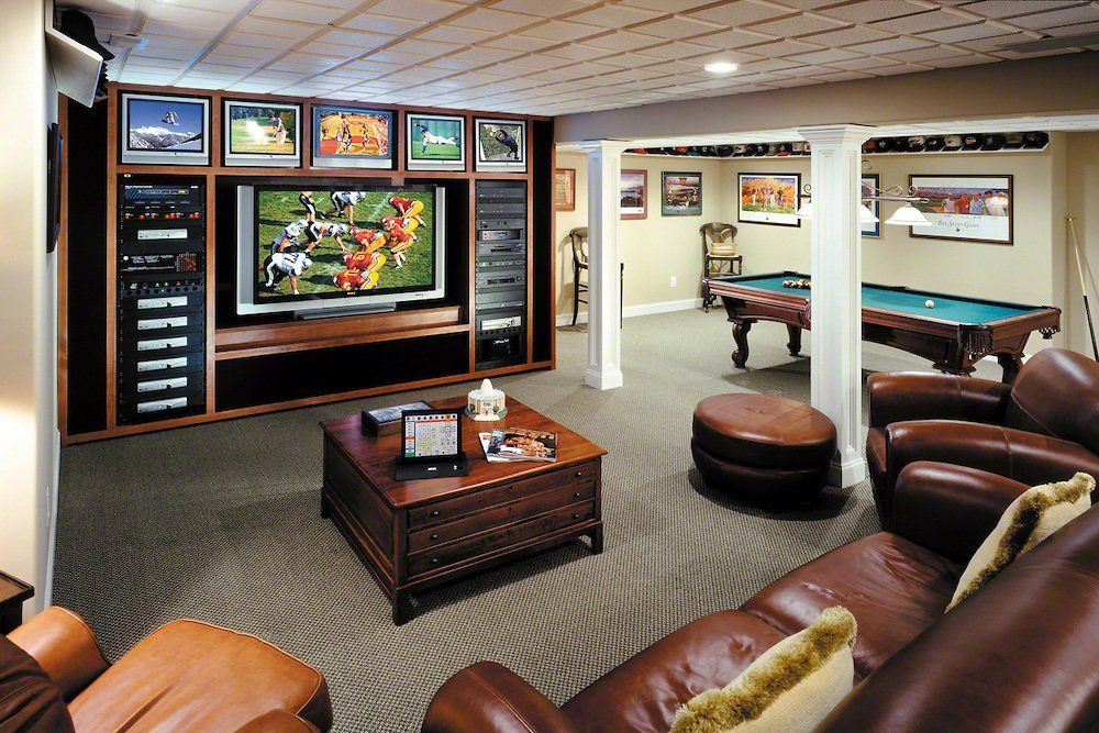 17 Classy Masculine Interior Designs For Your Inspiration Game Room Bar Game Room Decor Video Game Rooms