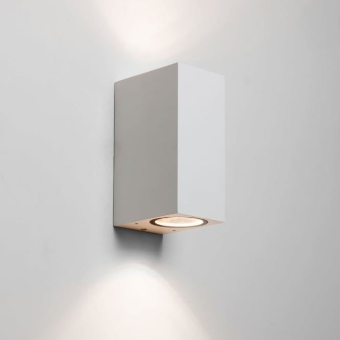 Astro chios 150 white exterior up and down wall light fitting type from dusk lighting uk wood lane project pinterest chios wall light fittings and