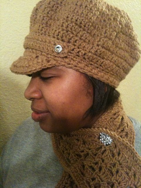 Ravelry: Newsboy hat pattern by Marcelle\'s Creative Crochet ...