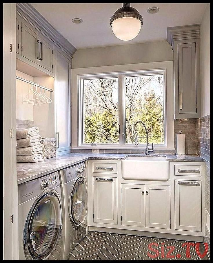 minimalist small laundry room organization ideas31 minimalist small laundry room…