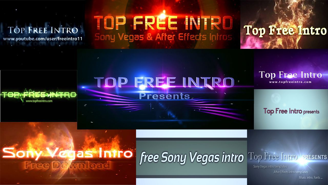 sony vegas pro 9 templates free download - sony vegas intro templates no plugins and free download