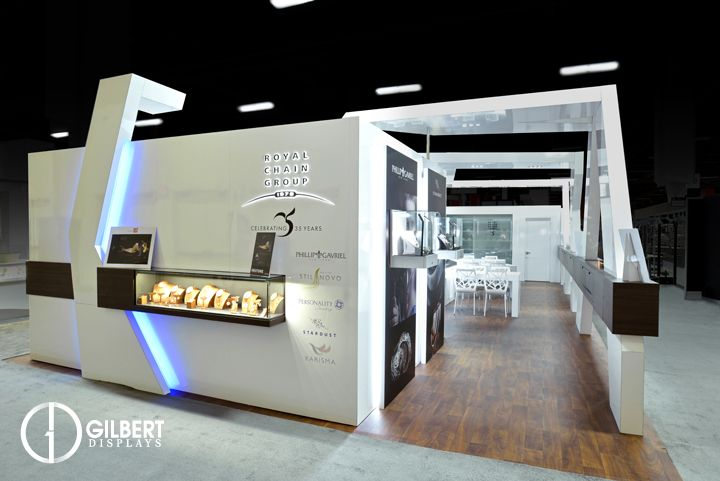Jewelry Exhibition Stand Design : Royal chain group at jck 22 x 50 #jck jewelry gilbert