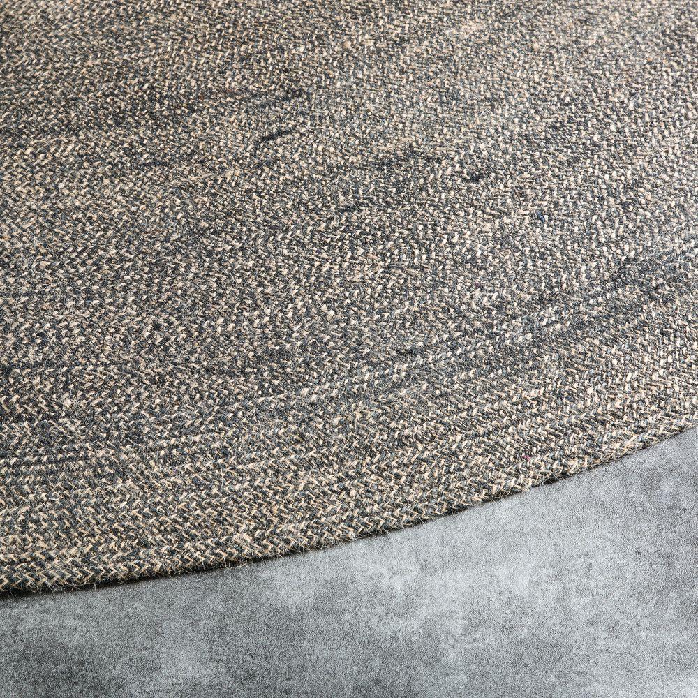 Runder Juteteppich D180 Jute Teppich Teppich Jute