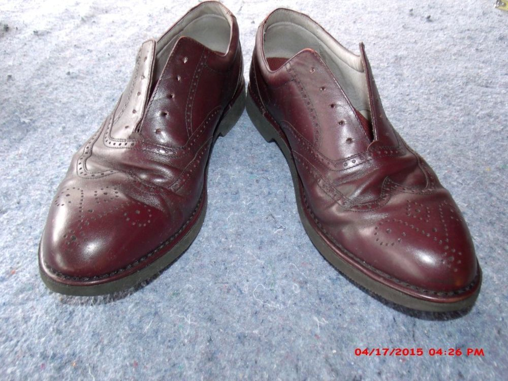 Leather Wingtip DresSports by Rockport Size 12 M Vibram Soles #Rockport  #WingTip