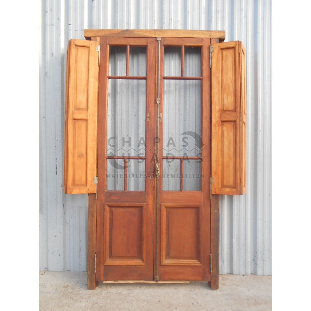 Resultado de imagen de puerta cristal antigua puertas for Puertas correderas antiguas