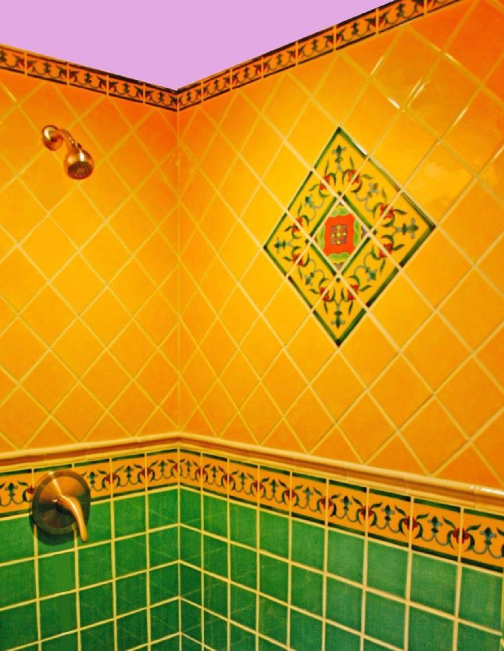 Talavera Tile Designs for Bathroom   Mexican Tile Shop ...
