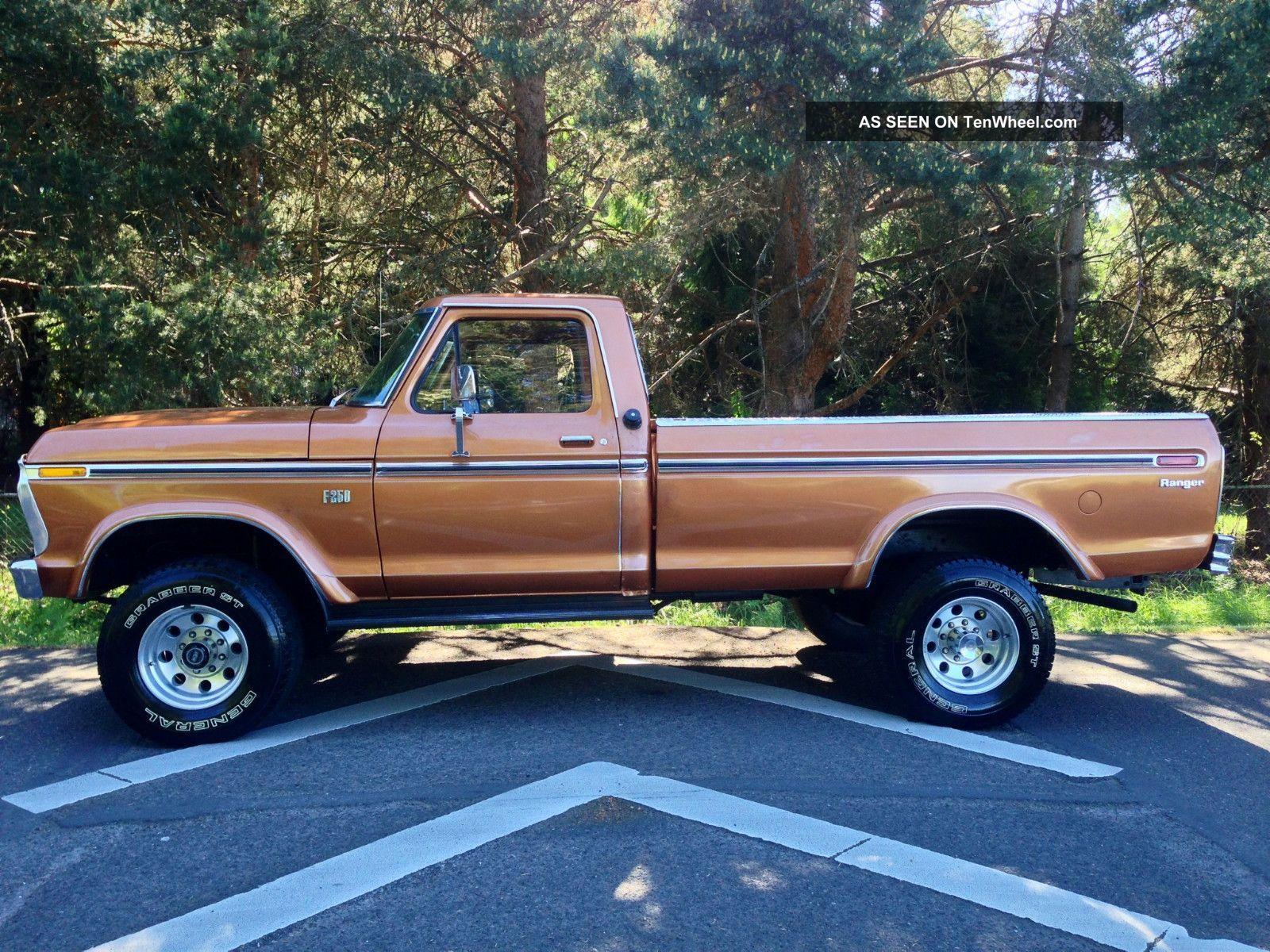 1972 ford truck interior 1976 ford f250 xlt ranger longbed highboy 4x4 1977 1978 1979