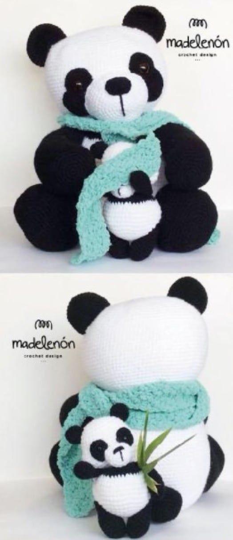 Super Cute Panda Crochet Patterns You Will Love | Crochet ...