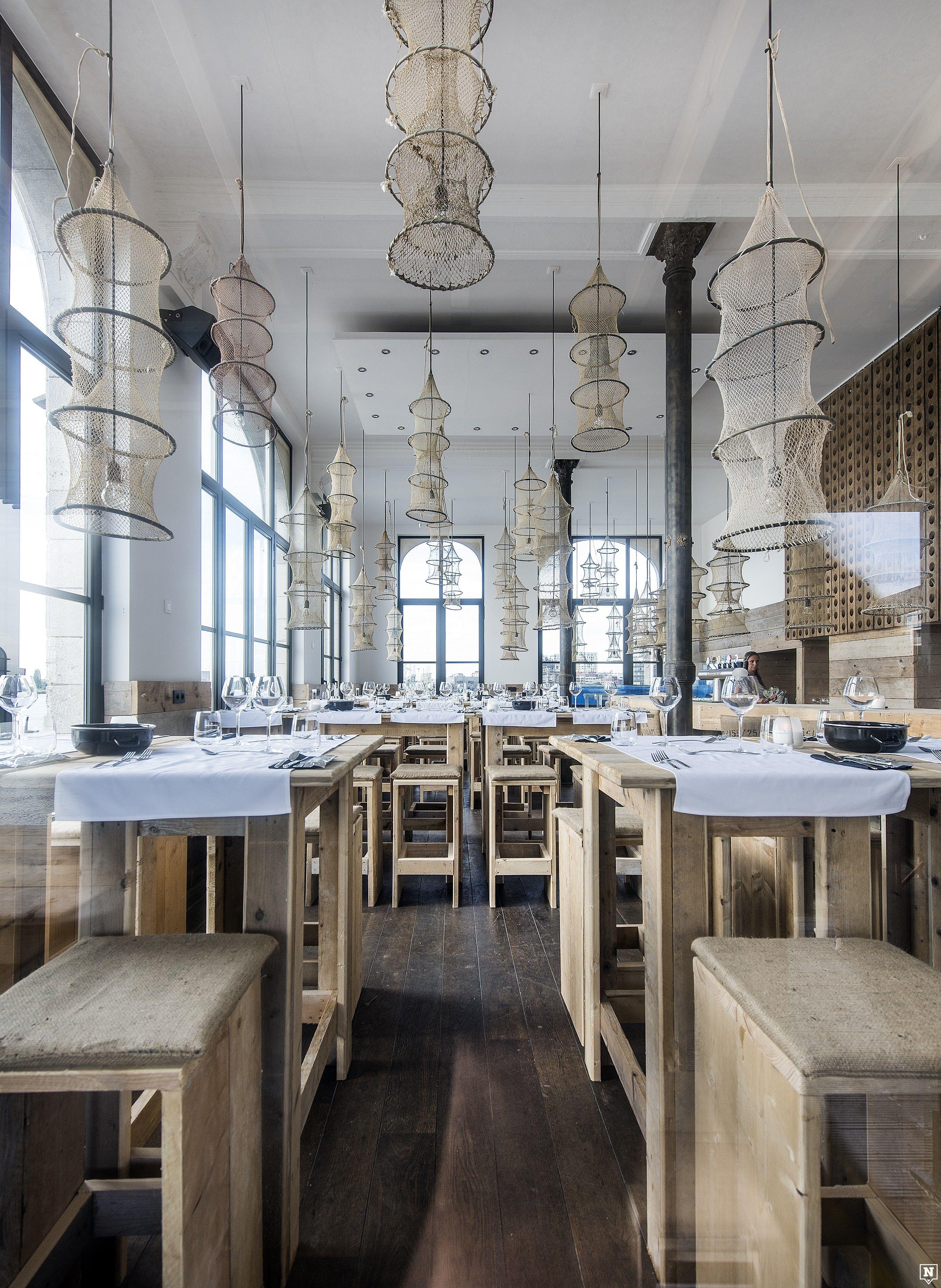 Plateau Royal, Antwerpen Www.newplacestobe.com Seafood Restaurant, Deco  Restaurant, Restaurant