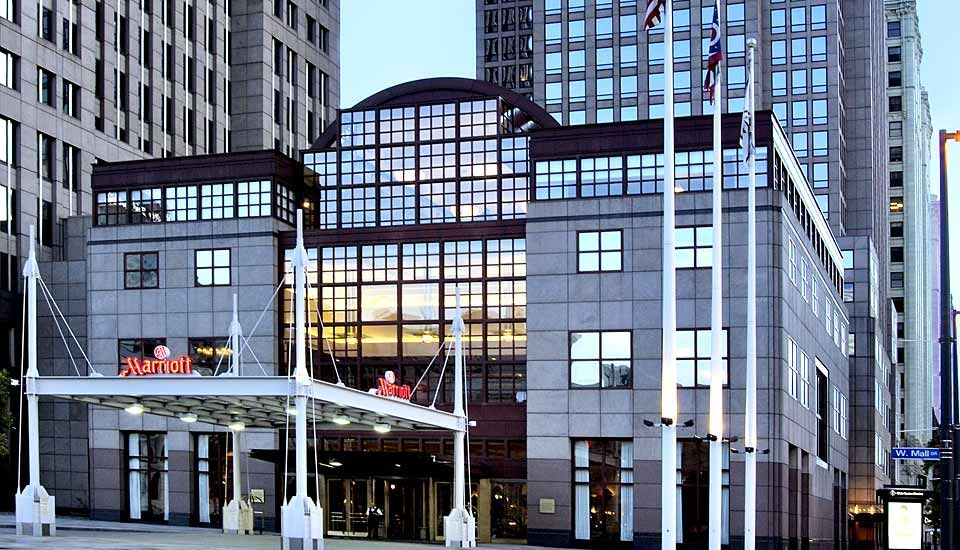 Cleveland Hotel Marriott Downtown In Ohio At Key Center A