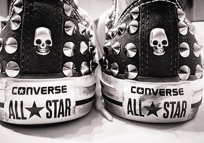 converse all star grigio