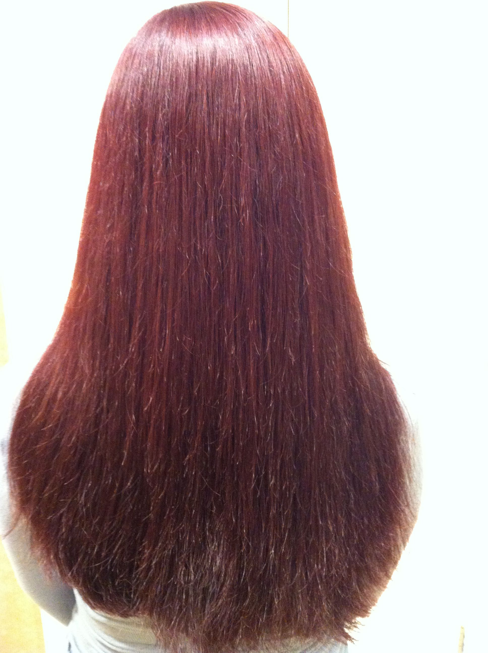 MATRIX color 6RB Work by #AndreaZysk #Mastercuts | Beauty ...