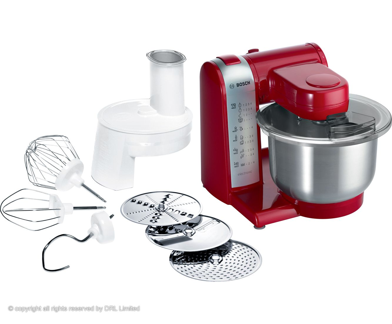 Bosch Kitchen Machine in Red Color | Wedding Gift Registry. Only the ...