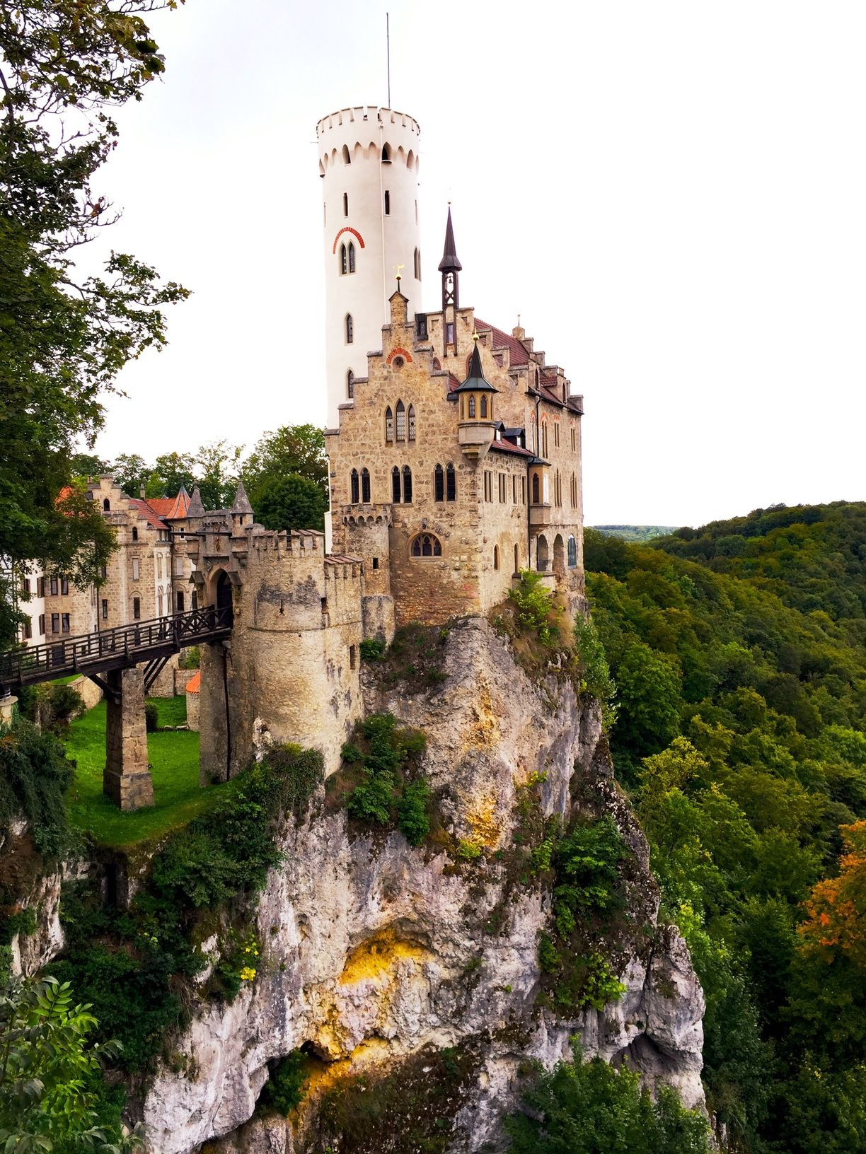 Lichtenstein Castle, Lichtenstein, Germany — by John Steel ...