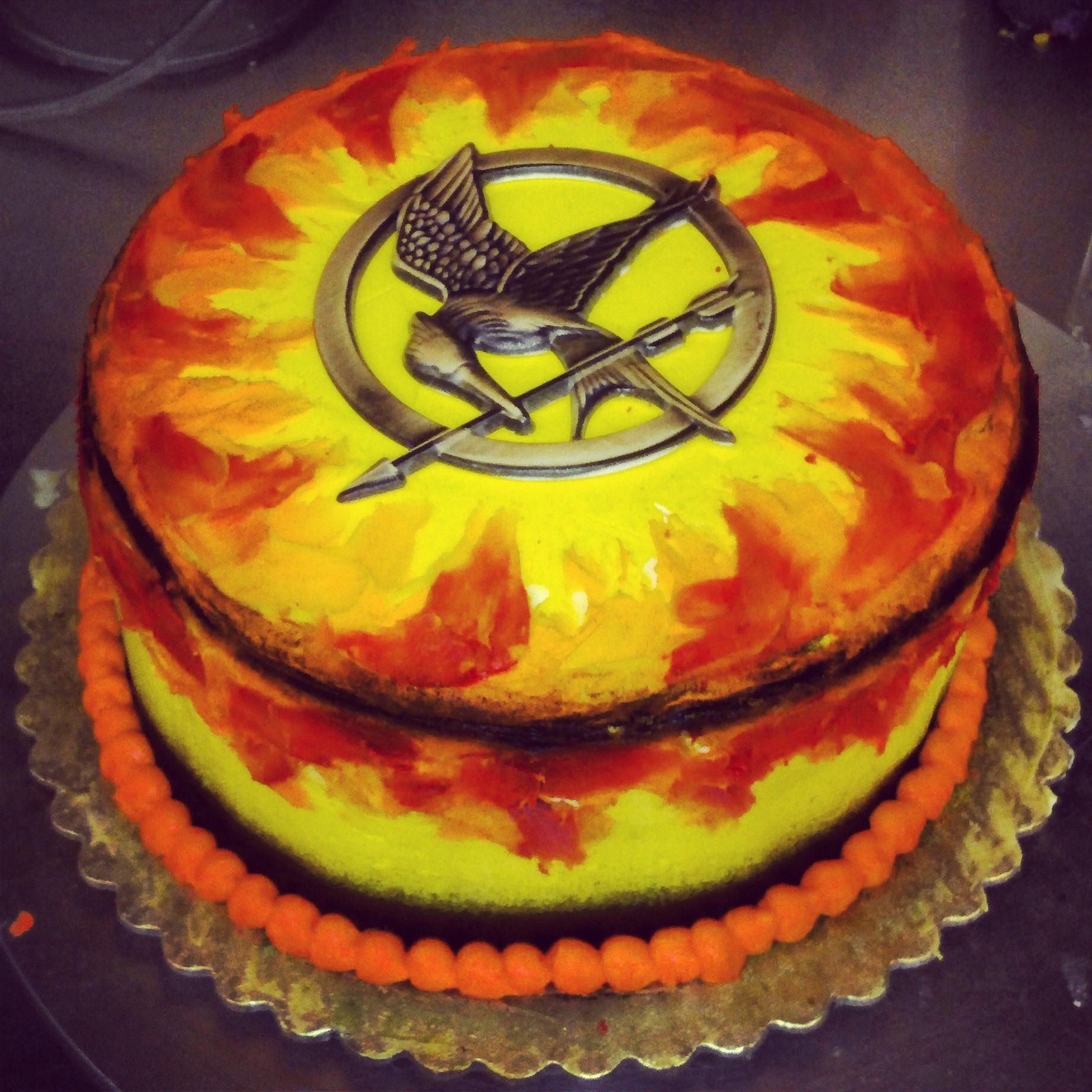 Hunger Games At Work Hunger Games Cake Hunger Games And Gaming