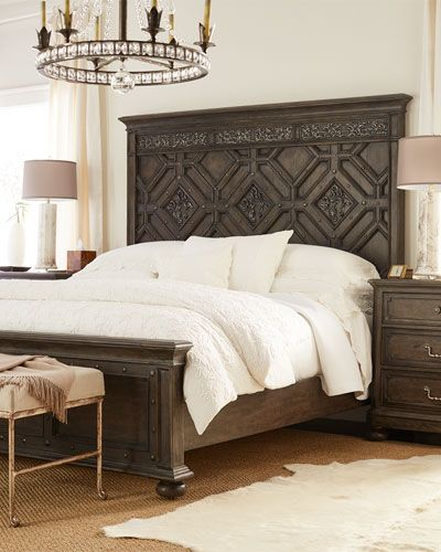 6722 Hooker Furniture Mathilda King Panel Bed Matilda California