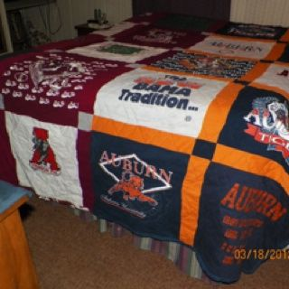 Thick, heavy, made out of sweatshirts, house-divided quilt ... : thick quilts for sale - Adamdwight.com
