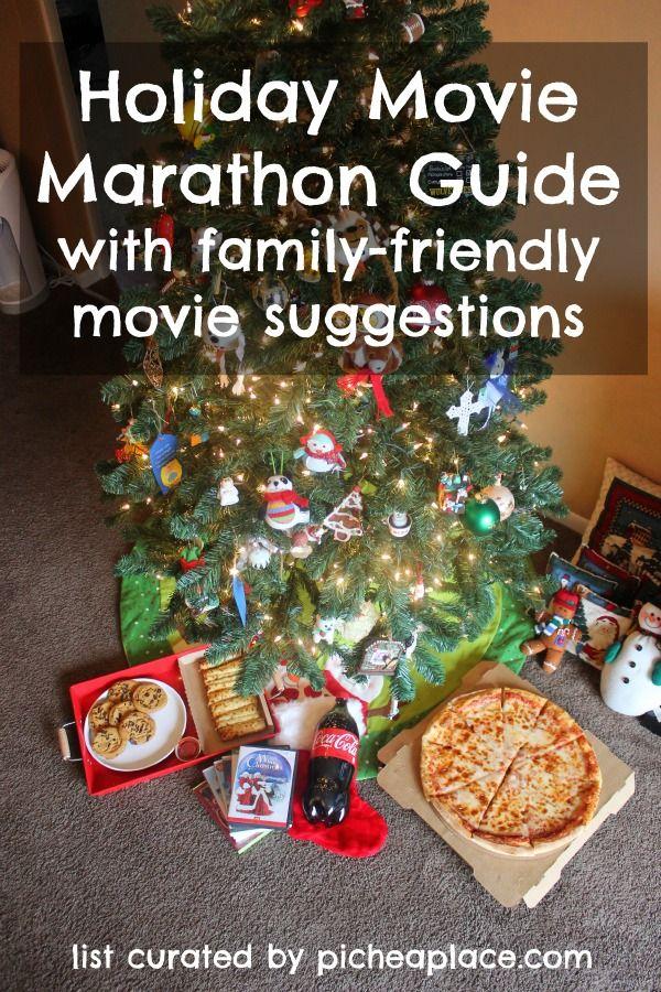 Holiday Movie Marathon Guide Holiday Holiday Movie Movie Marathon