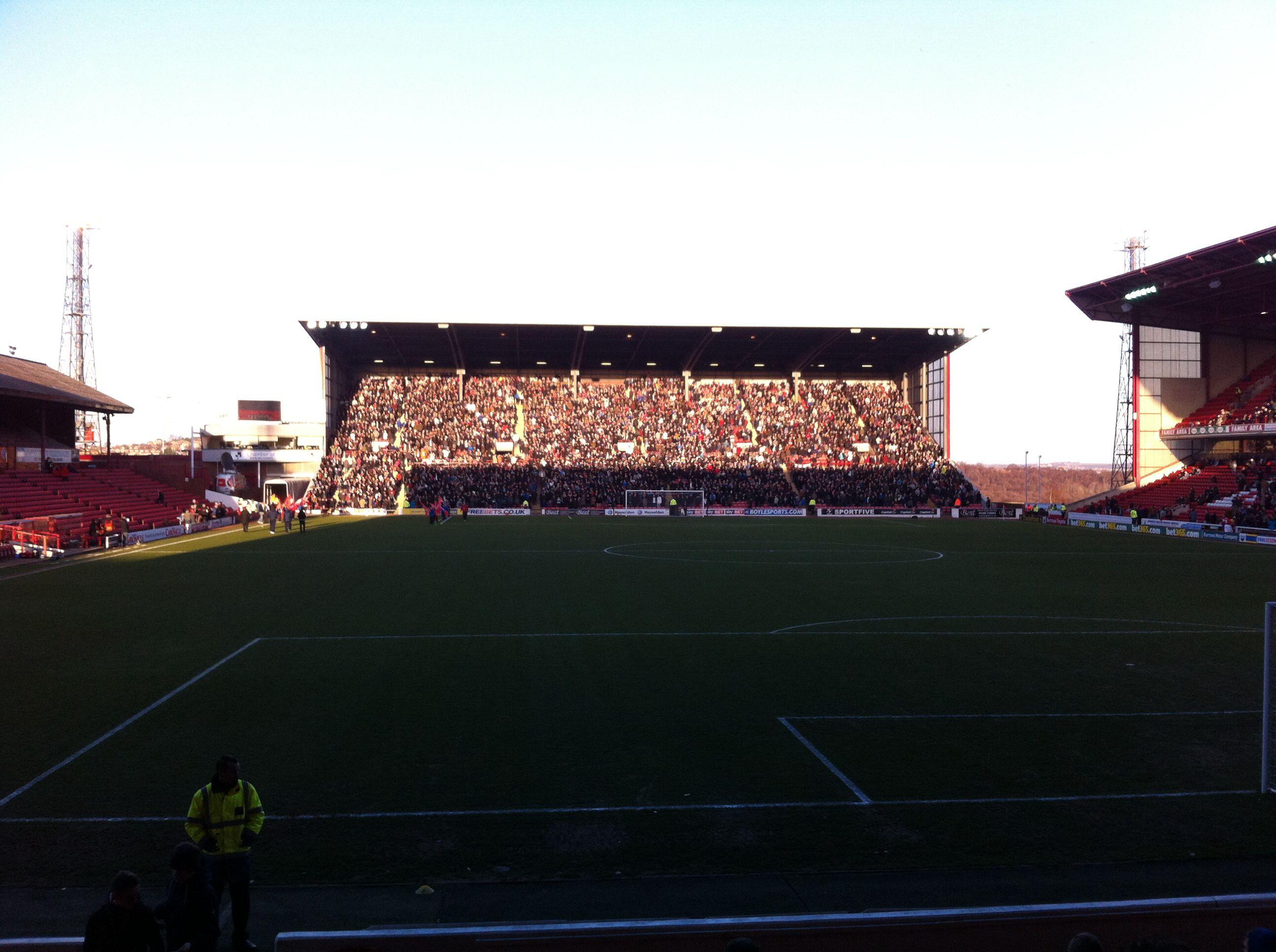 Oakwell, Barnsley FC v Derby County
