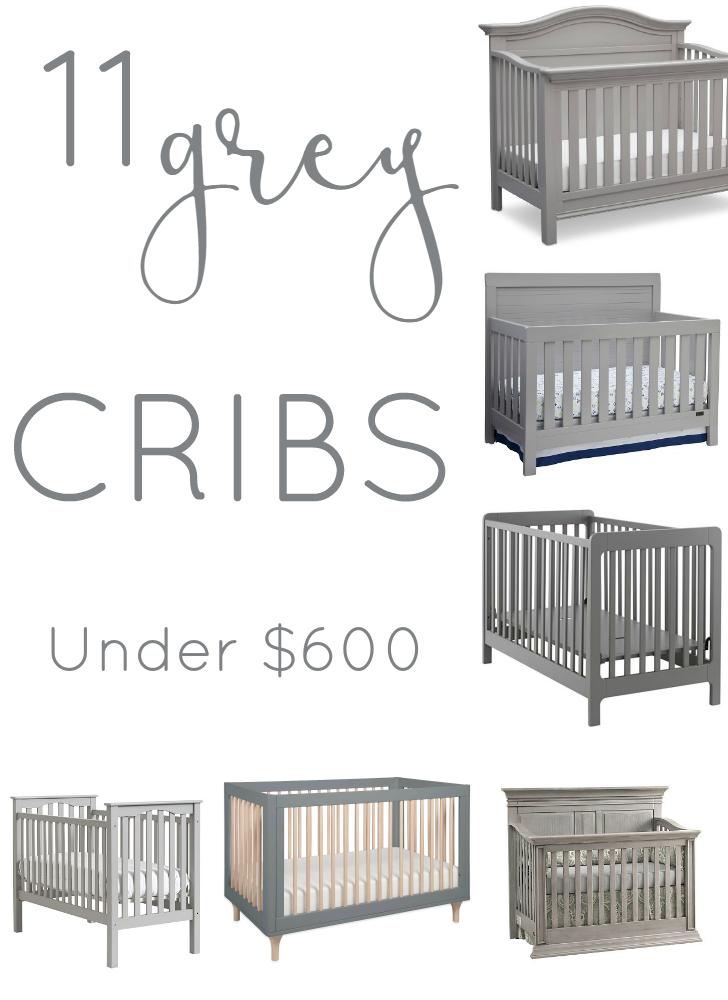 Eleven Affordable Grey Cribs Baby Nursery Furniture Grey Nursery Boy Grey Crib