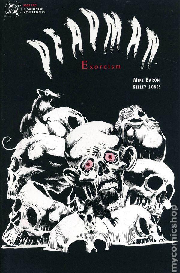 Deadman Exorcism (1992) 2 DC Comics Modern Age Bronze Comic book covers Super Heroes Villians