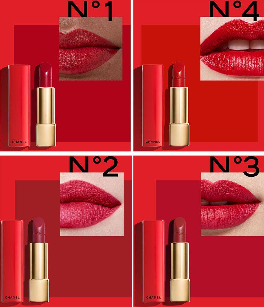 Kết quả hình ảnh cho Chanel RouGE allure Velvet red lipstick