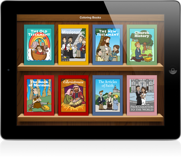 LDS Coloring Book LDS Mobile Apps This Will Be Great For Our