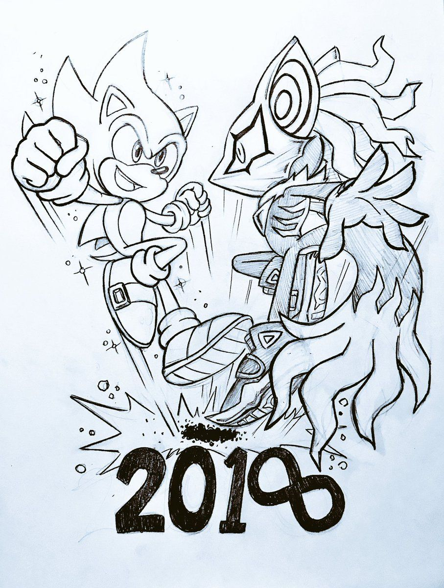 Supervisor Sonic And Infinite Sonic And Shadow Chibi Sketch Sonic The Hedgehog