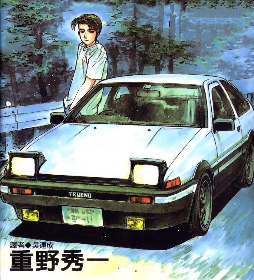 dezaki Initial d, Drift cars, Nissan skyline