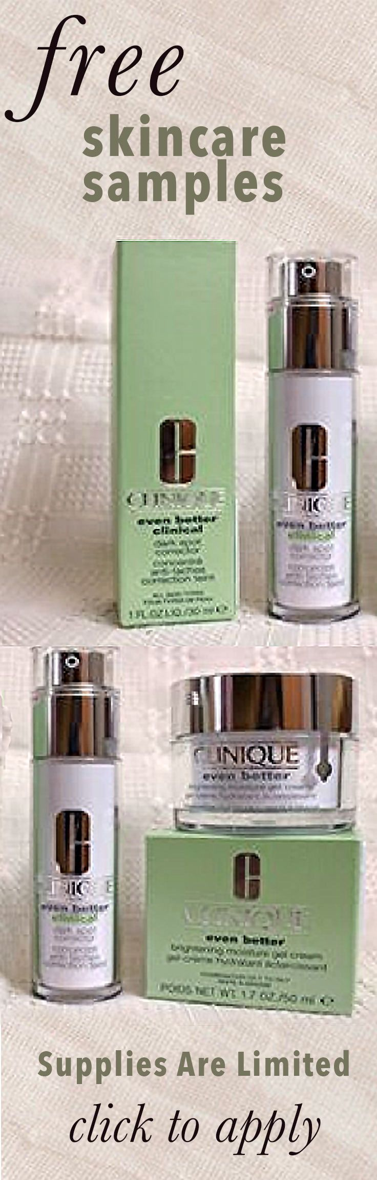 Free Skincare Samples For Top Anti Aging Wrinkle Cream Supplies Are Limited So Apply Now To Get Your Beauty Samples Top Anti Aging Products Skincare Samples