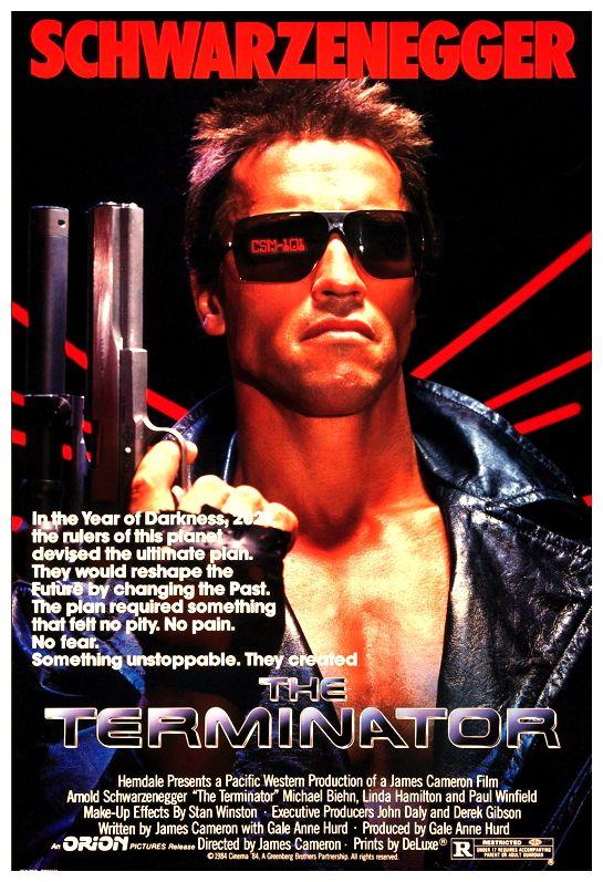 The Terminator  Original Movie Poster  My Favorite Movies